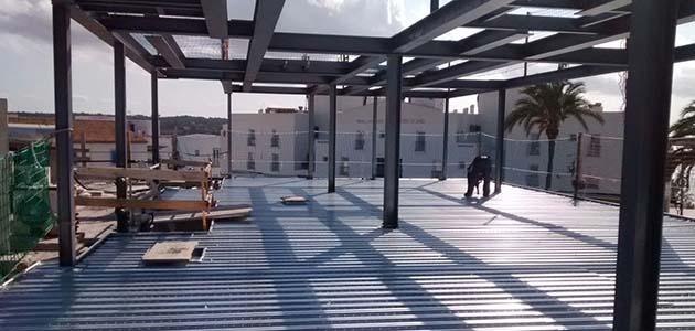 Forjados colaborantes estructuras y montajes llinares for Forjado estructura metalica